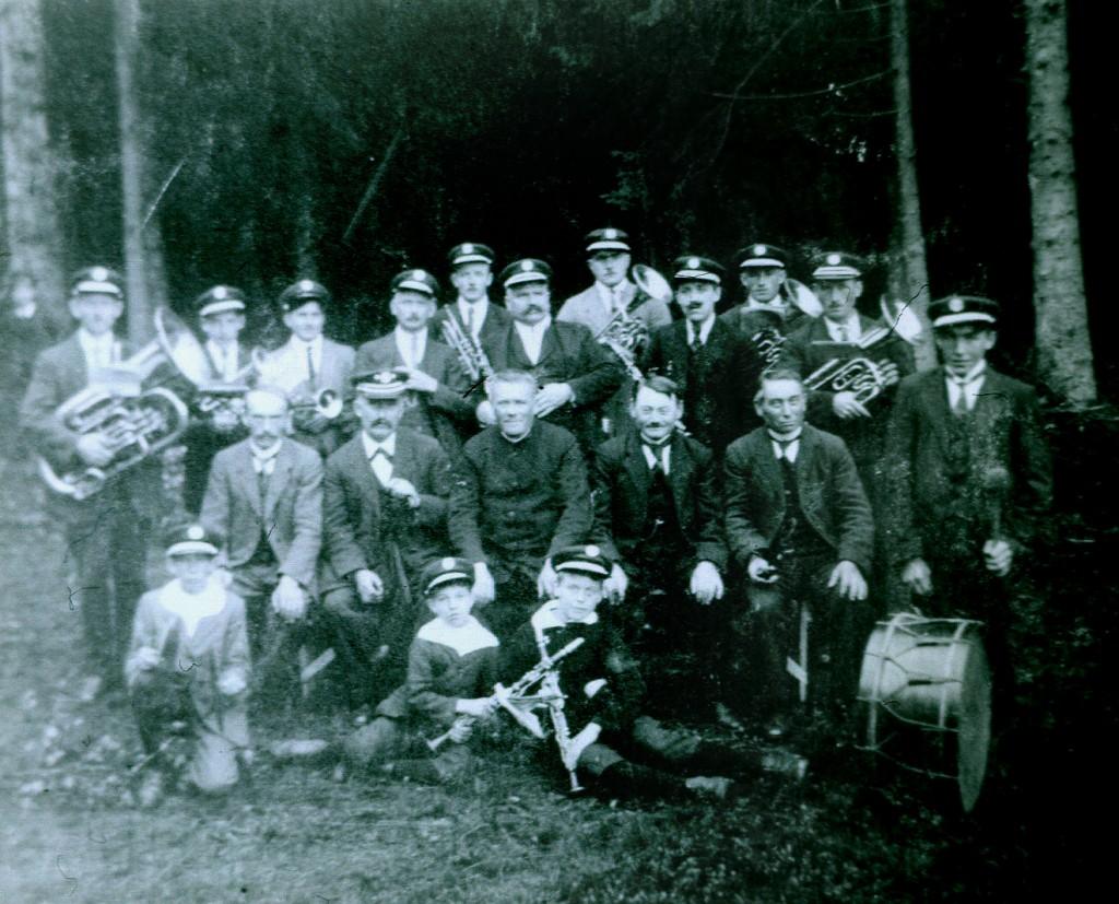 1924 Musikverein in den Gründungsjahren