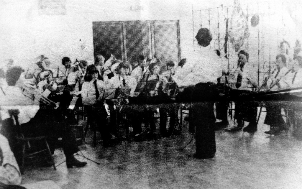 1977 Erster Auftritt der jungen Nachwuchsriege mit Adolf Servais