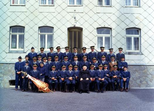 Der MV in den 1960er Jahren mit 44 Mitgliedern